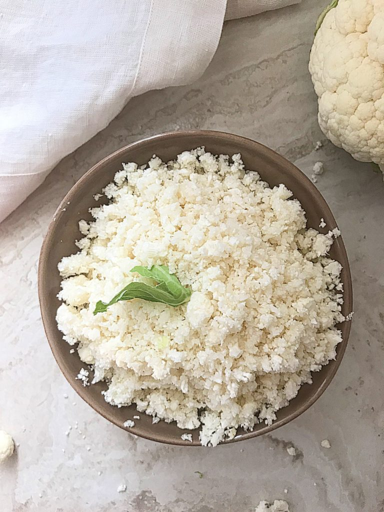 Riced cauliflower is so easy to make and this post will show you how. Since cauliflower is a very versatile vegetable used as a substitute for rice in low carb diets this post will help you prep this vegetables ahead of time.