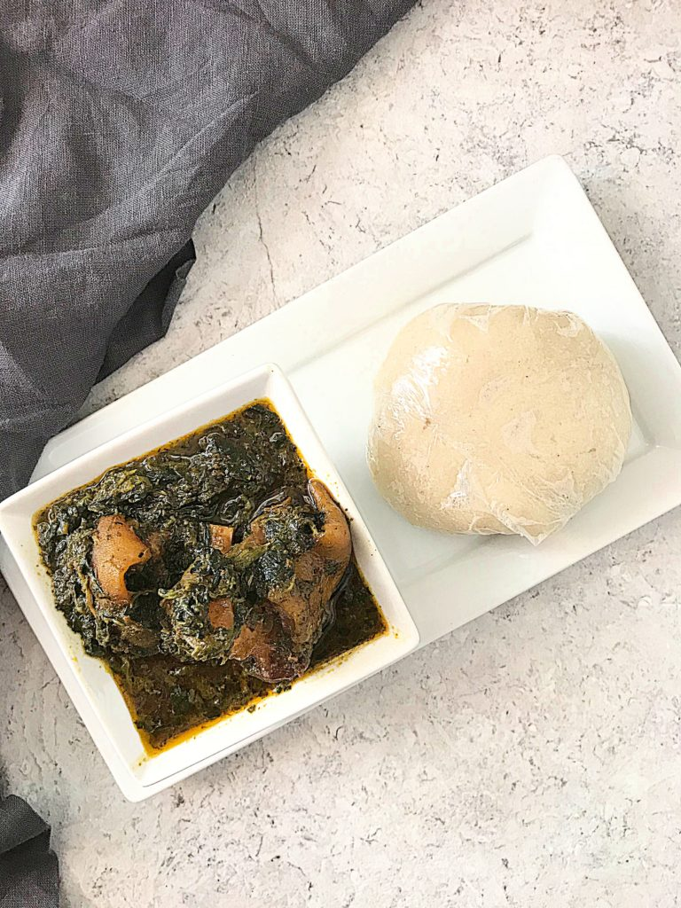 Cauliflower fufu