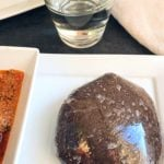 Low Carb Eggplant Swallow ( Low carb Amala )